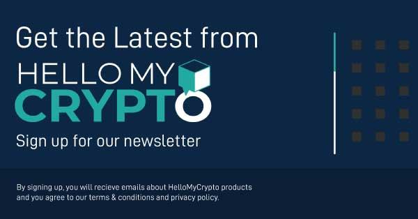 HelloMyCrypto Sign Up box V2